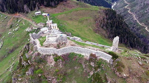 Karadeniz'in En Yükseğindeki Kalenin Restorasyonunda Sona Gelindi