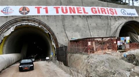 Ayvacık-Küçükkuyu Tünelleri 2019'da Hizmete Açılıyor