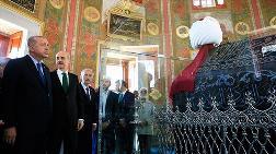 Erdoğan, Restore Edilen Fatih Sultan Mehmet'in Türbesini Açtı