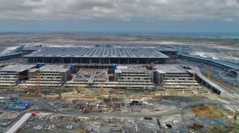 3. Havalimanı İnşaatında Son Durum Havadan Görüntülendi