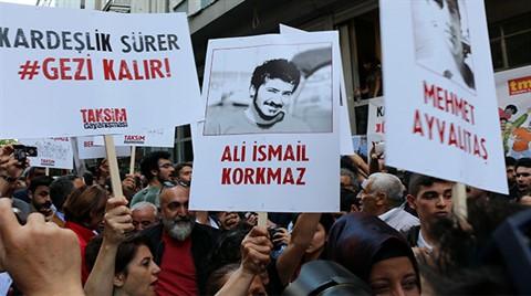 Gezi Olayları'nın 5.Yılında İstiklal Caddesi'nde Açıklama