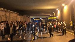 İstanbul'da Metrobüs İsyanı