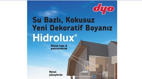 DYO Hidrolux Mekânlara Estetik Katıyor