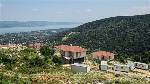 Sapanca'nın Ormanları Villalarla Betonlaştı