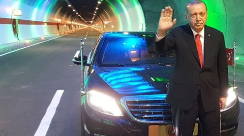 Cumhurbaşkanı Erdoğan, Ovit Tüneli'ni Açtı