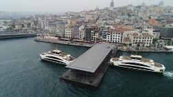 Karaköy İskelesi 10 Yıl Sonunda Hizmete Açıldı