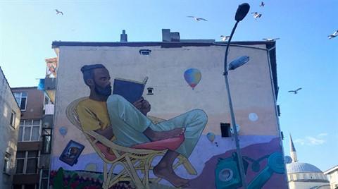 Binalar Mural Festivali İçin Canlandı