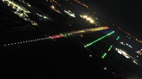 3. Havalimanı Gece Görüntülendi