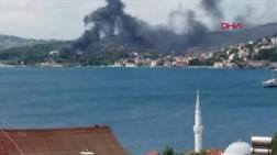 Beykoz Kundura Fabrikasında Yangın
