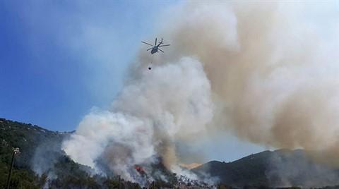 Kaş'ta Korkutan Orman Yangını