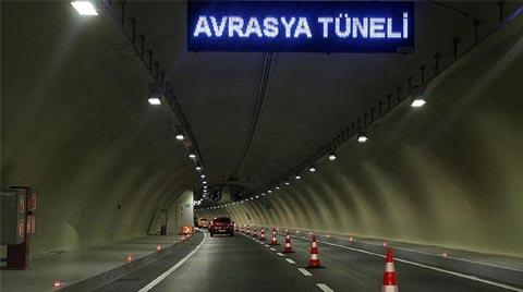 Avrasya Tüneli Geçişine Zam Geldi
