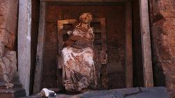 'Ana Tanrıça Kibele' Heykelinin Bulunduğu Kalede Çalışma Başlıyor