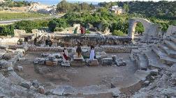 Ayaş Antik Tiyatrosu 2 Bin Yıl Perde Açıyor