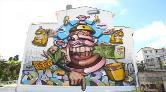 Kadıköy Sokakları Mural Festivali'yle Renklendi