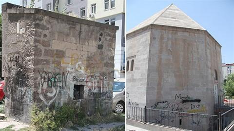 Kayseri'de Tarihe Saygısızlık