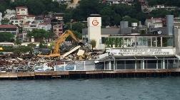Galatasaray Adası Yıkılıyor