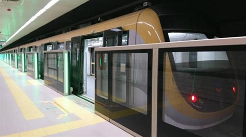 Deneme Sürüşleri Nedeniyle Metro Seferi İptal Edildi