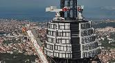 Küçük Çamlıca TV-Radyo Kulesi İnşaatında Sona Doğru