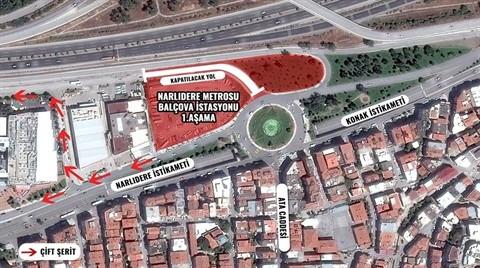 Narlıdere Metrosu'nun inşaatı Yarın Başlayacak