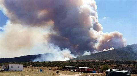 Torbalı'da 45 Hektarlık Orman ve Makilik Yandı