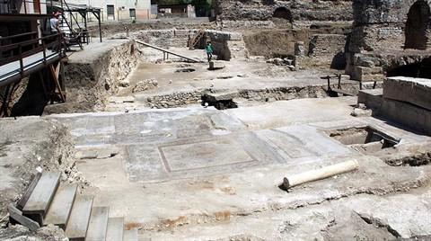 Romalıların Dinlenme Merkezi Gün Yüzüne Çıkarılıyor