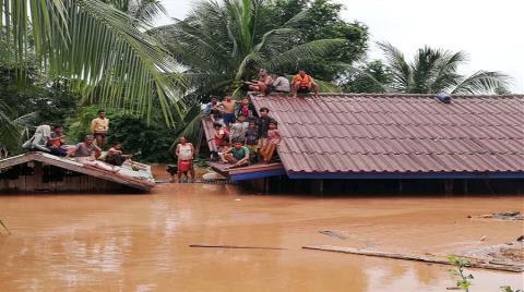 Laos'ta Baraj Çöktü: Onlarca Ölü Var