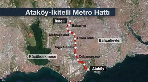 Ataköy-Basın Ekspres-İkitelli Metrosu'nda Sona Doğru