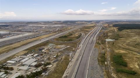 Kuzey Marmara Otoyolu'nun İnşaatı Hızlandı