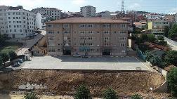 Sancaktepe'de Duvarı Çöken Okuldaki Son Durum
