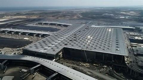 İstanbul Yeni Havalimanı'nın Yüzde 94'ü Tamamlandı