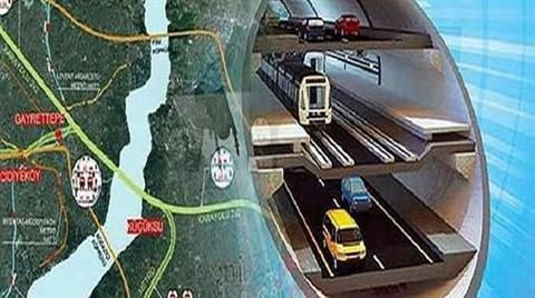 3  Katlı Tüp Tünelin Güzergahı Neresi Olacak?
