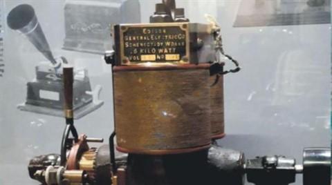 Edison'un 131 Yıllık Dinamosu Rahmi M. Koç Müzesi'nde