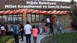 Niğde'de Millet Kıraathanesi Açıldı