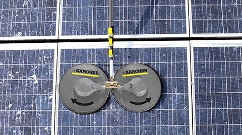 Güneş Panellerinde Verimliliği Korumanın Sırrı: Kärcher iSolar