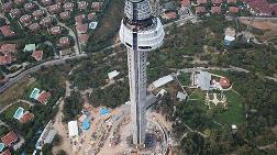 """Çamlıca Televizyon Kulesi """"Giydirilmeye"""" Başlandı"""
