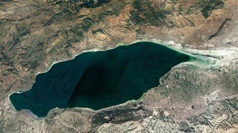 Burdur Gölü Hızla Yok Oluyor