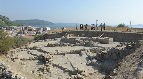 Maydos'ta 4 Bin Yıllık Savunma Duvarı Bulundu
