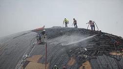 Uzay Havacılık Merkezi'nin İnşaatında Yangın