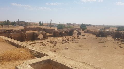 Şanlıurfa'daki Han el-Barur Kervansarayı'nda Restorasyon Başladı