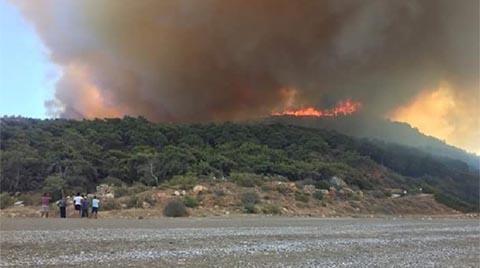 """""""İklimsel Bir Değişiklik Olmazsa"""" Yangın Kontrol Altında"""