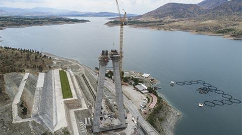 Yeni Kömürhan Köprüsü'ne Doka Kalıp İle Hızlı Çözümler