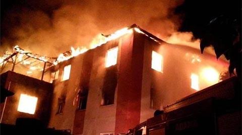 """""""Binalarda Yangından Korunmak ve Kurtulmak İçin Acil Önlem Almalıyız"""""""