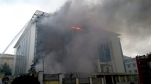 İstanbul'da Huzurevinde Yangın Çıktı