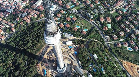 Çamlıca Kulesi'nin Son Hali Görüntülendi