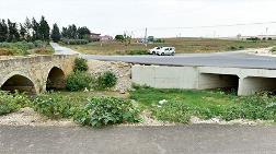 Tarihi Söğütlüdere Köprüsü'ne Asfalt ve Beton 10 Yıl Önce Dökülmüş