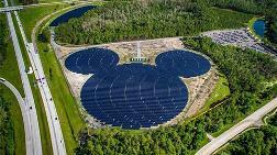 Walt Disney'den 50 MW'lık Güneş Enerjisi Tesisi