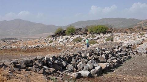 Baraj Suyu Çekilince Arkeoloji Parkı Ortaya Çıktı