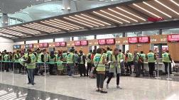 Yeni Havalimanında 3 Bin Kişilik Deneme