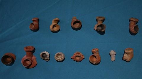 Bursa'da 300 Yıllık Osmanlı Pipoları Bulundu