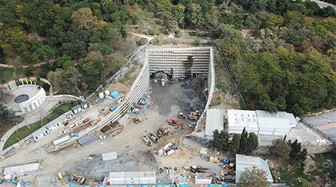 Maçka'daki Tünel Çalışmaları Görüntülendi